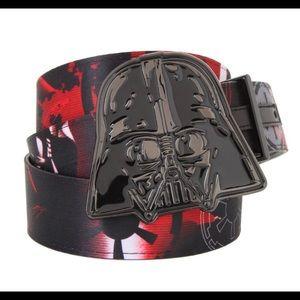 Star Wars Reversible Belt & Buckle-Darth Vader